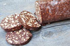 Il salame di cioccolato è un dolce a base di cacao e biscotti secchi, la cui forma assomiglia a quella di un salame. E' un dolce molto amato e diffuso in tante zone d'Italia, anche con il nome di salame turco. In Emilia Romagna si usa spesso come dolce di fine pasto, soprattutto nel periodo natalizio e pasquale.