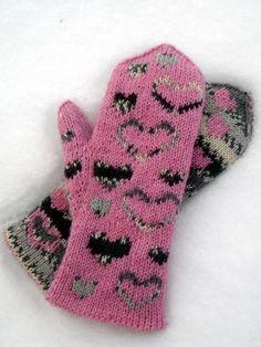 Ulla 01/13 - Ohjeet - Tuohisydän Knit Mittens, Mitten Gloves, Lettering, Knitting, Barn, Crochet, Tricot, Handicraft, Cast On Knitting