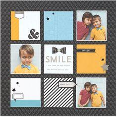 Single page ~ three photos; tiles