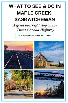 What to see and do in Maple Creek, Saskatchewan - a great overnight spot off the Trans-Canada with a B&B that offers an authentic stagecoach option for the night Trans Canada Highway, Cypress Hill, Canadian Travel, Hill Park, Visit Canada, Slow Travel, Camping Places, Trip Planning, Tourism