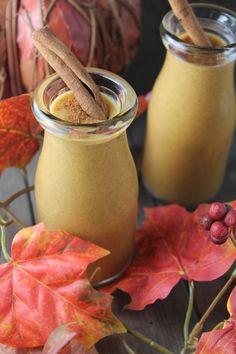 Pumpkin Pie Smoothie – Nut Free | fastPaleo Primal and Paleo Diet Recipes