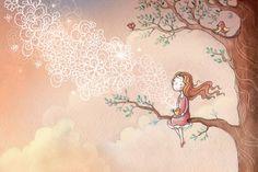 Illustrations by Irina Smirnova, via Behance