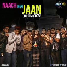 : Excited that #NaachMeriJaan is out tomorrow at 9.30am! #ABCD2 @remodsouza @ShraddhaKapoor #19thJune can't wait
