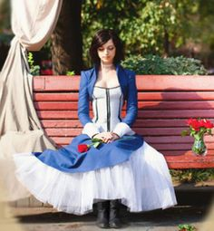 Bioshock Infinite Elizabeth Cosplay - so jealous of how pretty she is. and how much she looks like Elizabeth Bioshock Game, Bioshock Series, Amazing Cosplay, Best Cosplay, Cosplay Outfits, Cosplay Costumes, Cosplay Ideas, Bioshock Infinite Elizabeth, Elizabeth Cosplay