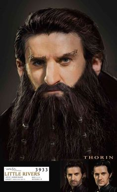 Thorin Concept -- See, his beard could maybe have been like this?? But they did make a great design for him.