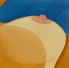 Salvaged Breast, 1977 by Tom Wesselmann