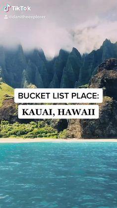 Kauai, Hawaii - New Ideas Kauai Vacation, Hawaii Honeymoon, Vacation Trips, Kauai Hawaii, Hawaii Life, Hawaii Things To Do, Moving To Hawaii, Hawaii Travel Guide, Tulum Mexico