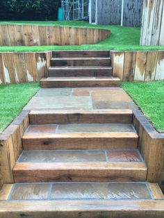 Idea, tactics, and guide when it comes to obtaining the finest outcome and creating the optimum use of Landscaping Ideas for Front Yard Back Garden Landscaping, Landscaping Retaining Walls, Garden Paving, Landscaping Ideas, Sloped Backyard, Sloped Garden, Backyard Patio Designs, Outdoor Walkway, Outdoor Steps