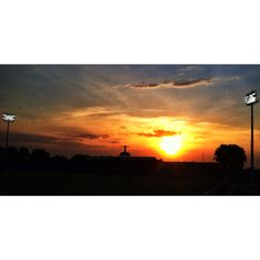 Sunset in surajaya stadium #sunset #photography #landscape