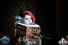 Naked Girls Reading April |Toronto Burlesque Photography