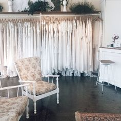 So calm. I adore seeing our #younglovecollection hanging in our flagship boutique x