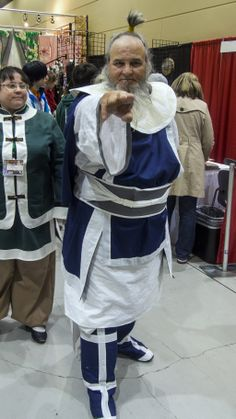 Sakura Con: The Last Avatar Uncle Iroh by Mackingster.deviantart.com on @deviantART