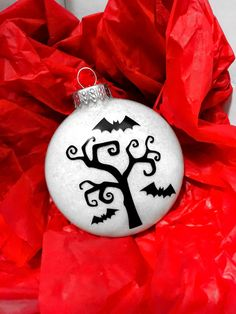 Nightmare Before Christmas Ornaments NBC by AnchorsAndAvocados