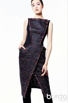 Платье-жилет. / Фотофорум / Burdastyle