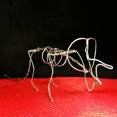 Armature for needle felting by Jeff Daum of Dauminion