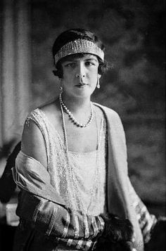 Princess Charlotte of Monaco, Duchess of Valentinois (1898-1977) Her history is complicated- born illegitimate, she was legally adopted by her father, Prince Louis II, as a way to continue the Grimaldi line, Then married off to Prince Pierre de Polignac. Louis is the one who gave his daughter this particular tiara. She was the mother of the late Prince Rainier and grandmother of Caroline, Albert, and Stephanie.