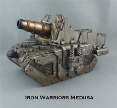 Iron-Warriors Medusa Self-Proppeled Siege-Gun