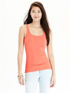 Women's Perfect Pop-Color Tanks | Old Navy