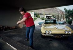 Beach Boy Brian Wilson and his 1966 Corvette