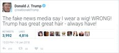 trump tweet usa president funny fake humor