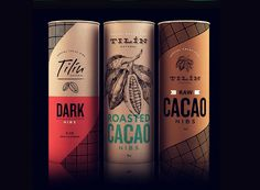 32 Modern Packaging Design Examples for Inspiration is part of Chocolate packaging - Packaging des 3 Packaging Snack, Organic Packaging, Cool Packaging, Food Packaging Design, Coffee Packaging, Bottle Packaging, Packaging Design Inspiration, Brand Packaging, Food Design