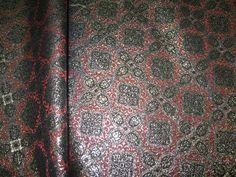 Жаккардовые ткани 1000 Жаккардовая парча. Черный, красный и белая метанить. Дорого и нарядно. Есть кусочек 1метр