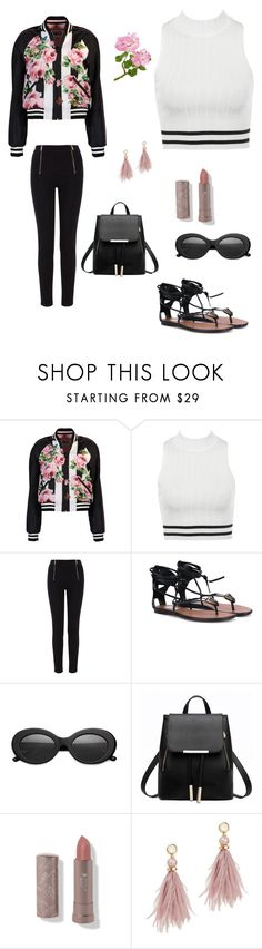 """Winter to Spring"" by simply-annie-designs on Polyvore featuring Dolce&Gabbana, Karen Millen, Crap, Cassia, Lizzie Fortunato, Wintertospring and MyFABSUMbeauties"