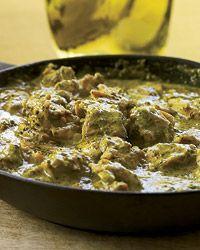 Green Chicken Masala
