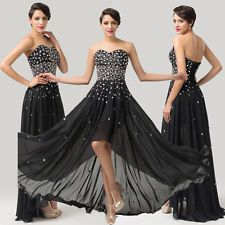SHINE Beaded Formal Long Evening Gown Party Dancing Prom Bridesmaid Bridal Dress
