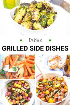 Grilling is the perfect family dinner or way to get together with family and friends!   These Grilled Side Dishes  are a great way to pair your food up!
