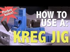 How To: Use a Kreg Jig | Shanty2Chic - YouTube