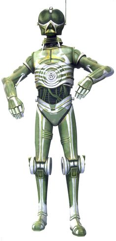 4A-2R was a pirate droid and member of Hondo Ohnaka's pirate gang during the Clone Wars.