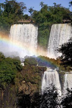 Puerto Iguazú, border of Argentine and Brazil.