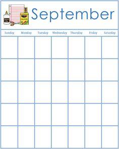 58 Best Printable September 2018 Calendar Images On Pinterest