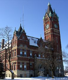 The Delaware County Courthouse, Manchester, Iowa