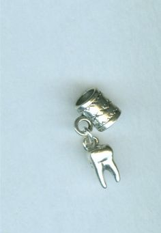 Sterling+MOLAR+Tooth+Bead+Charm+for+Pandora+Troll+by+ShymaliLlamas,+$14.00 I NEED!!!