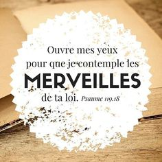 Ancien Testament: Les Psaumes Biblical Verses, Bible Scriptures, Bible Quotes, Godly Quotes, Biblical Inspiration, French Quotes, Mind Body Spirit, Torah, Quotes About God