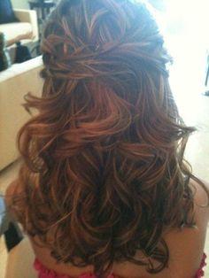 Down Half-up Wedding Hair Photos & Pictures - WeddingWire.com