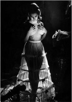 Sylvia Sorrente as Elsi, in Castle Of Blood (1964)