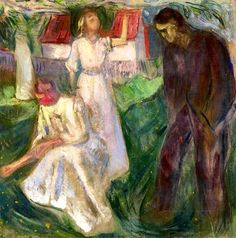 Life/ Right Part Edvard Munch - 1910