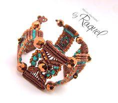 MicroMacrame bracelet. #bracelet #jewelry