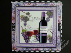 Card for a lover of red wine!