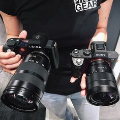Which one would you pick? Leica SL (Type 601) or Sony a7RII?Photo by @thephotogear Tag a photographer  #camera #gear #leica #leicacamera #sony #sonyalpha #sonya7rii #a7rii #sonycamera #leicacraft #photographyislife #photoshooting