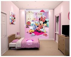 Minnie Mouse XL Behang - Walltastic