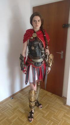 Kassandra from Assassin's Creed® Odyssey Assassins Creed Cosplay, Assassins Creed Odyssey, Cool Costumes, Cosplay Costumes, Cosplay Armor, Halloween Disfraces, Best Cosplay, Awesome Cosplay, Cosplay Girls
