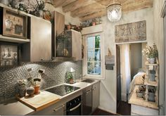 I genuinely want wooden beams in my kitchen!!!