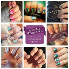 #nails #nailwraps #jamberry  jamminwithevy.jamberrynails.net