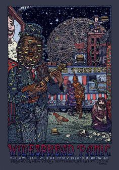 David Welker Widespread Panic Poster And More Release