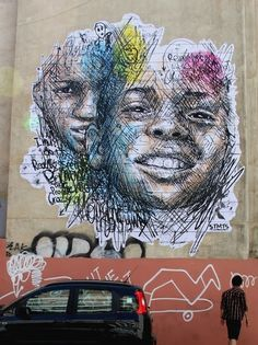 Street artist Stamatis (STMTS) has a talent for expressing emotions through his graffiti posters. This piece expresses hope, determination and self awareness.