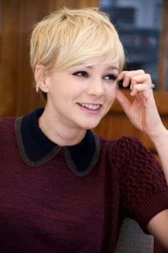 Carey Mulligan short haircut - Google Search